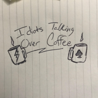 Idiots Talking Over Coffee podcast