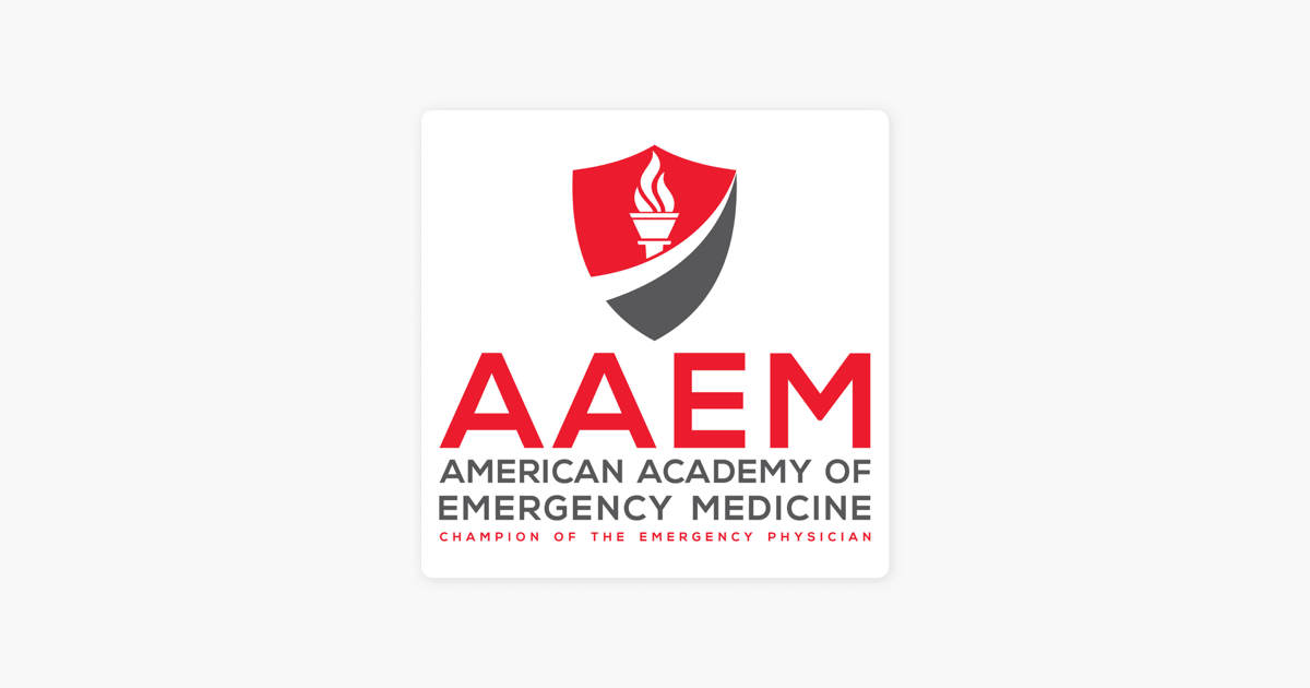 AAEM Podcasts: Critical Care in Emergency Medicine no Apple