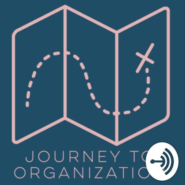 Journey to Organization with Rebekah Saltzman banner backdrop