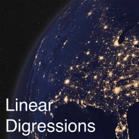 Podcast cover art for Linear Digressions
