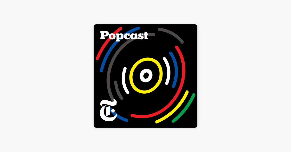 New York Times Popcast podcast cover photo