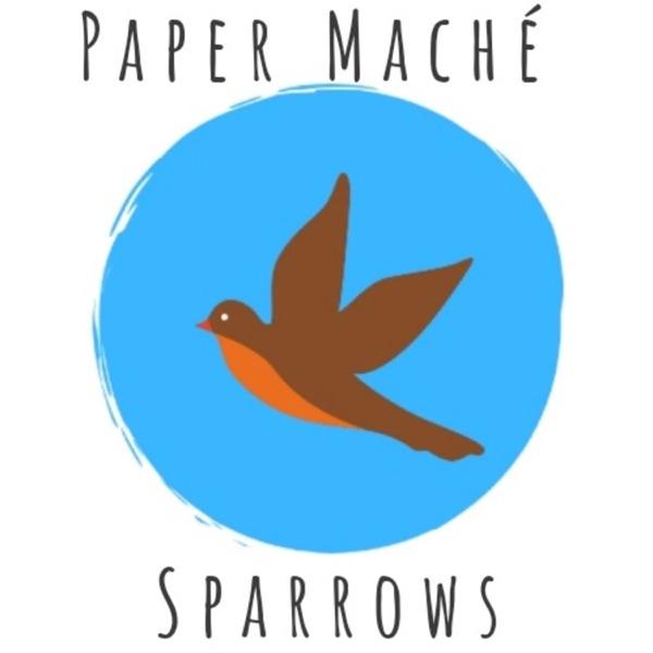 Paper Maché Sparrows