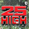25' HIGH OUTDOORS artwork