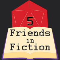 Five Friends in Fiction podcast