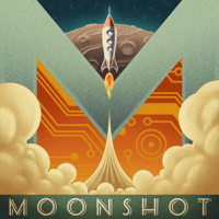 Podcast cover art for Moonshot
