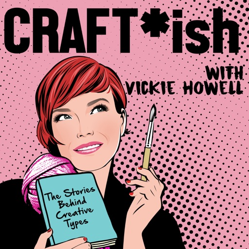 Cover image of CRAFT-ish Podcast with Vickie Howell