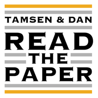 Tamsen and Dan Read the Paper podcast