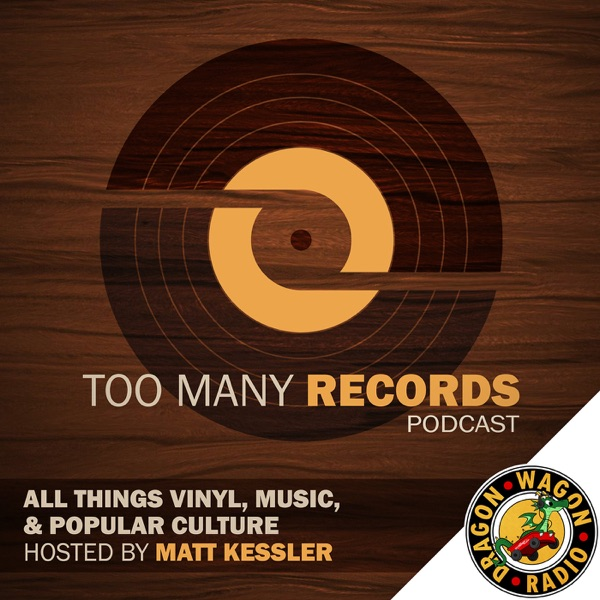 Too Many Records banner backdrop