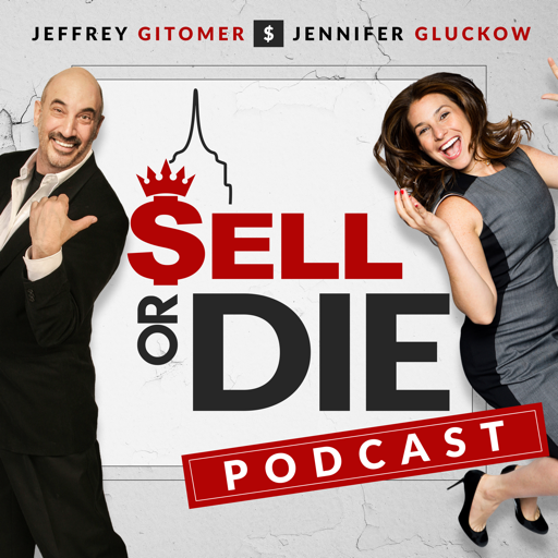 Cover image of Sell or Die with Jeffrey Gitomer and Jennifer Gluckow