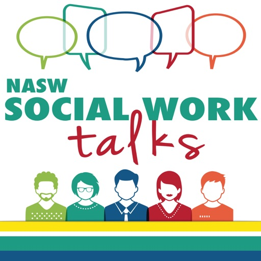 Cover image of NASW Social Work Talks