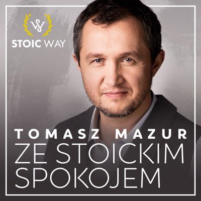 Ze stoickim spokojem:Tomasz Mazur