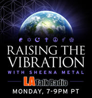 Raising The Vibration with Sheena Metal podcast