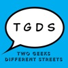 Two Geeks Different Streets artwork