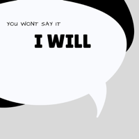 You won't say it, I will. podcast