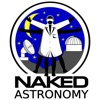Naked Astronomy, from the Naked Scientists artwork