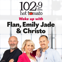 Flan, Emily Jade and Christo on 1029 Hot Tomato podcast