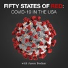Fifty States of Red: COVID-19 in the USA artwork