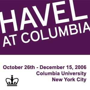 Havel at Columbia [staging site]: Events (Video)