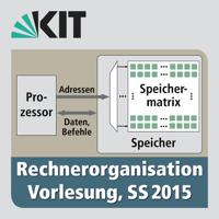 Rechnerorganisation, Vorlesung, SS2015 podcast