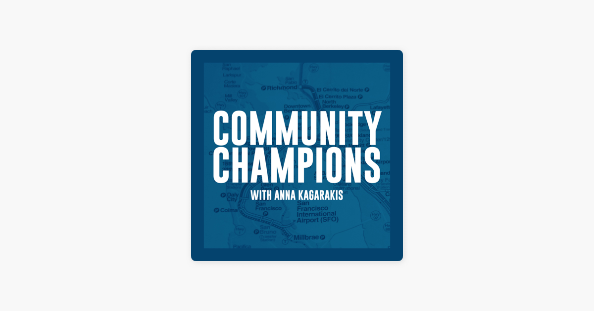 Community Champions Podcast on Apple Podcasts