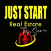 Just Start Real Estate with Mike Simmons artwork