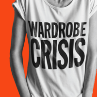Podcast cover art for WARDROBE CRISIS with Clare Press