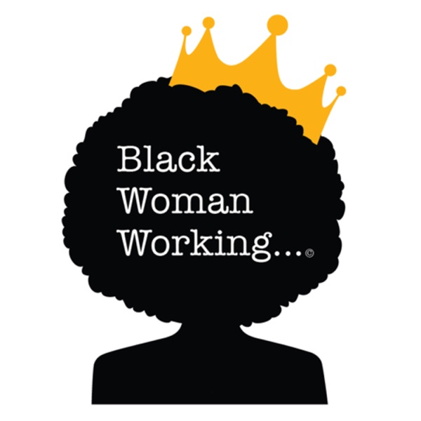 Black Woman Working...