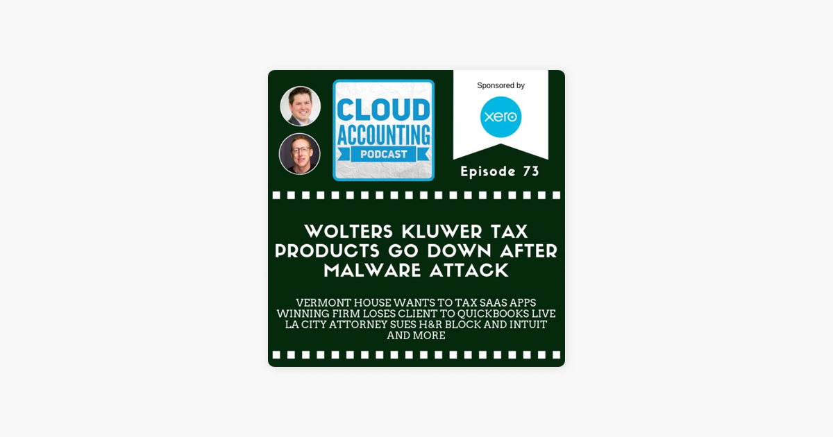 Cloud Accounting Podcast Wolters Kluwer Cloud Tax Products