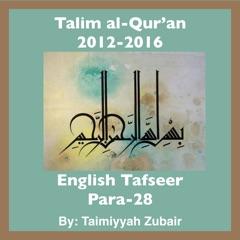 Talim al-Qur'an 2012-16-Para-28