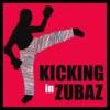 Kicking in Zubaz artwork