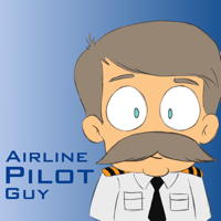 Podcast cover art for Airline Pilot Guy - Aviation Podcast