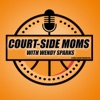Court-Side Moms, in depth conversations with NBA, WNBA, and professional  players mothers artwork
