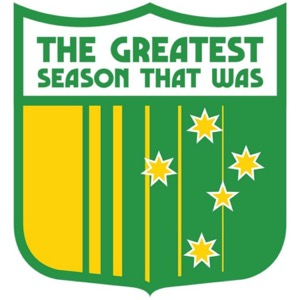 The Greatest Season That Was Presents...Australia A