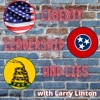 Liberty, Leadership and Lies with Larry Linton artwork