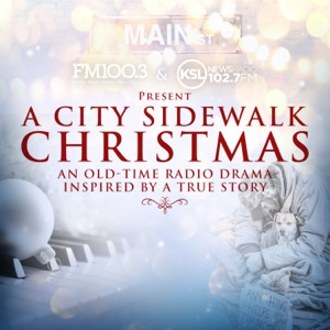A City Sidewalk Christmas