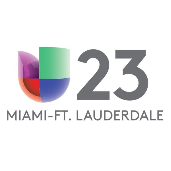 Servicio Informativo de Noticias 23, Univision Miami-FortLauderdale banner backdrop