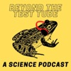 Beyond the test tube: a science podcast artwork