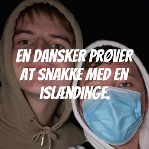 En dansker prøver at snakke med en islændinge.