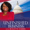 Unfinished Business with Rogette Harris artwork