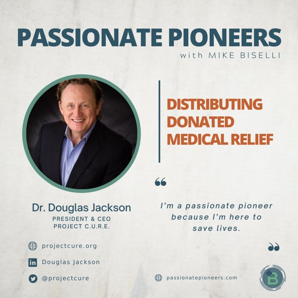 Distributing Donated Medical Relief with Dr. Douglas Jackson photo