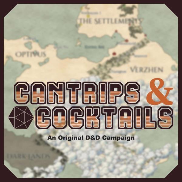 Cantrips & Cocktails: An Original D&D Campaign Artwork