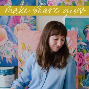 Make Share Grow: art-making and the creative process