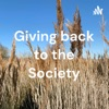 Giving back to the Society artwork