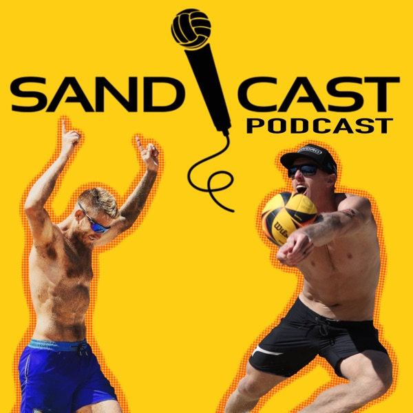 SANDCAST: Beach Volleyball with Tri Bourne and Travis Mewhirter Artwork
