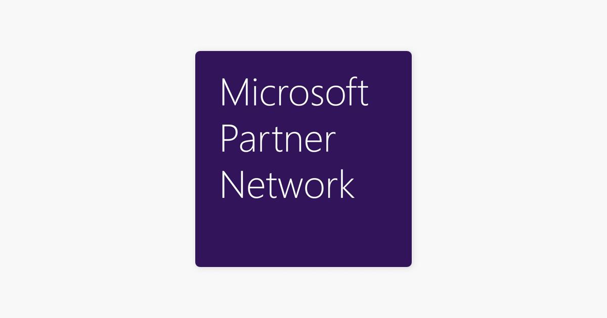 Microsoft Partner Network podcast on Apple Podcasts
