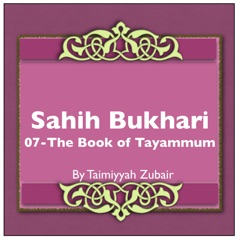Sahih Bukhari The Book Of Tayammum