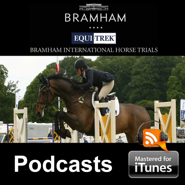 David Britnell happy with a clear around Bramham's cross country