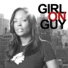 Girl on Guy with Aisha Tyler artwork