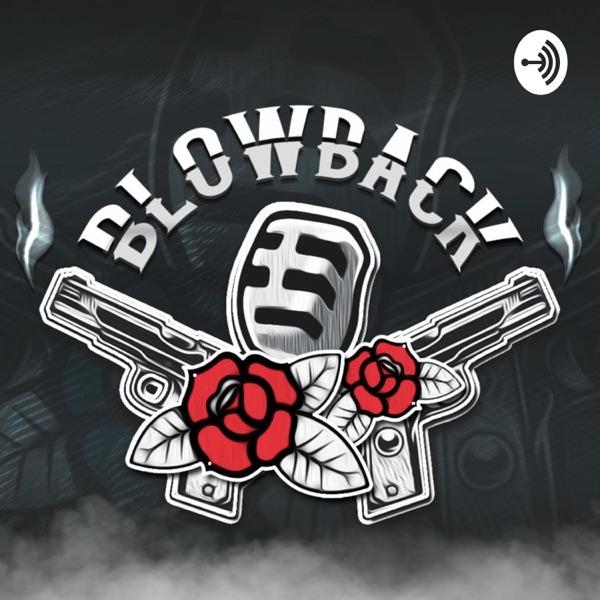 Blowback banner backdrop