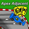 Apex Adjacent - Welcome. Your line might not be perfect, your car might not be running, but we still love you. artwork